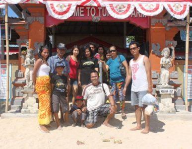 Bukti tamu tamu Kss Bali Tour