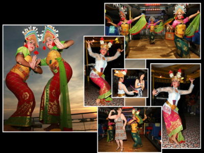 Balinese dance - bounty Cruise