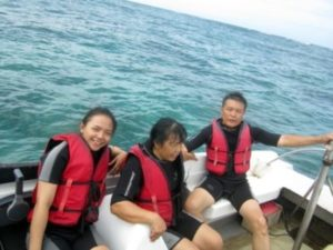 Persiapan Scuba diving