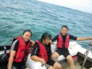 Persiapan Scuba diving