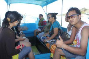 Glass Bottom Boat Tanjung Benoa Bali