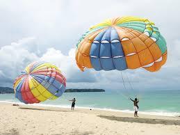 water sport Parasailing nusa dua Bali