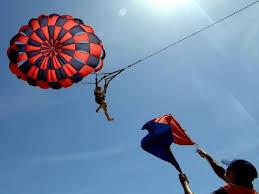 parasailing Bali dan pemandu di bali