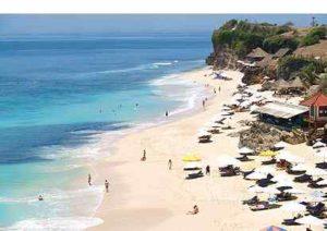 Lokasi Dream land Bali