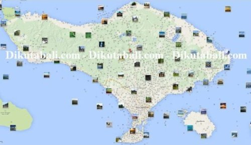 Peta Bali Dan Wisata