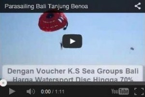 Video Parasailing Bali