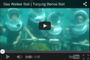 Video Sea Walker Bali