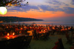 Sunset di jimbaran cafe