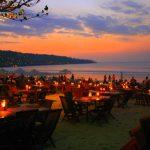 Sunset di jimbaran cafe