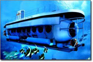 Wisata submarine Bali amuk bay