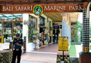 Bali Safari Marine Park Entrance