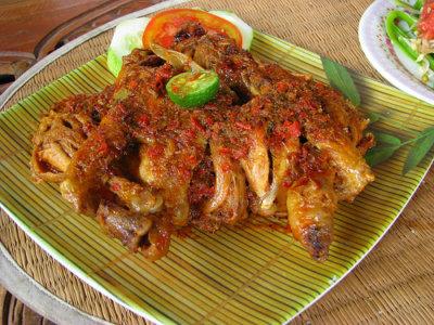 ayam betutu bali wisata kuliner di Bali