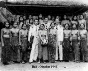 wanita Bali Tempo dulu 1941