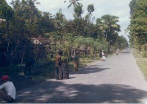 Jalan legian era 1970