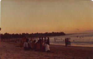Pantai Kuta sore Hari