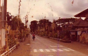 Pusat Ubud 1984 BAli tempo dulu
