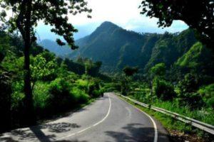Pemandangan Jalan di Bali