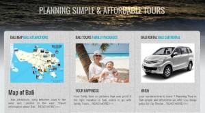 Bali tour vacation web english contact