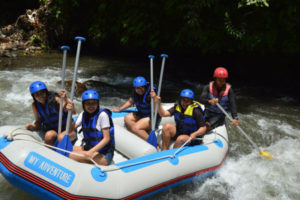 my adventure rafting bali