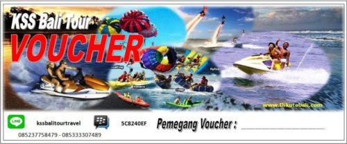 Voucher Wisata Watersport Bali