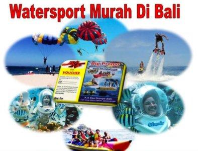 Watersport harga murah paket diskon Bali