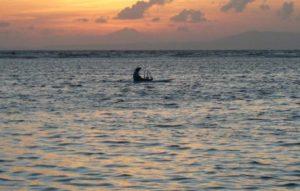 Matahari terbit di nusa dua Bali
