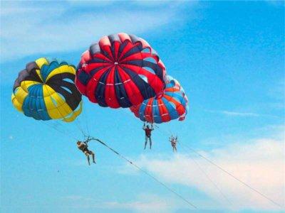 jarak dan ketinggian parasailing