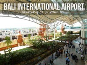 Suasana Bandara Air Port Ngurah Rai Bali