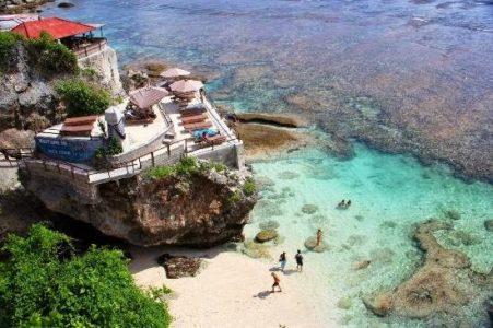 Pantai Blue Point Bali - Bali Sebagai Tempat Kunjungan Terbaik