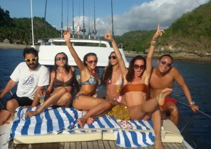 Party Time bali fishing yacht boat