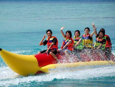 Banana boat water sport Bali tanjung benoa nusa dua