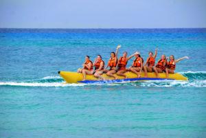 Banana Boat paket 3 permainan watersport