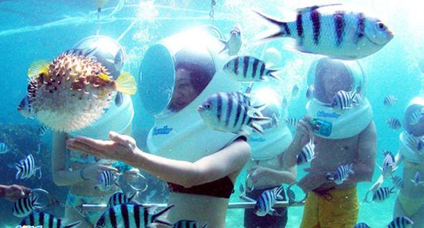 harga watersport Tanjung benoa Sea-Walker