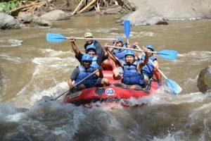 Ayung rafting bali adventure