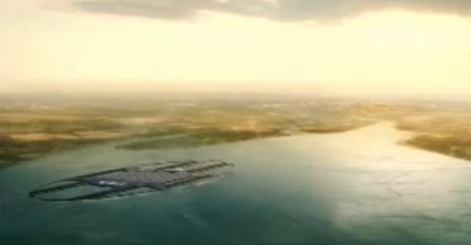 bandara terapung di Bali bangunan pertama di indonesia
