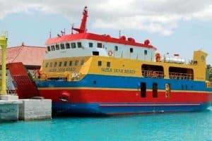 Kapal Roro Padang Bay to Nusa Penida Island
