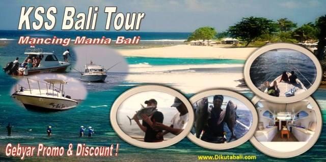 Tempat Penyewaan Kapal Mancing di Bali