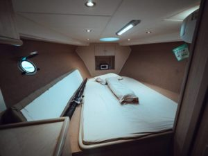 Room cabin in yacht