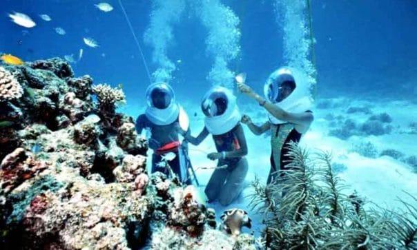 harga paket water sport Bali Sea Walking Sea Walker