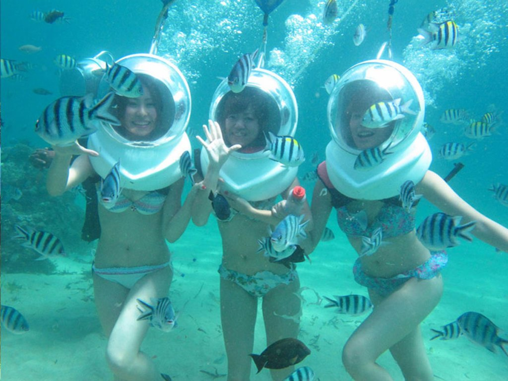 Seawalker Experience Bali Packages Cheap