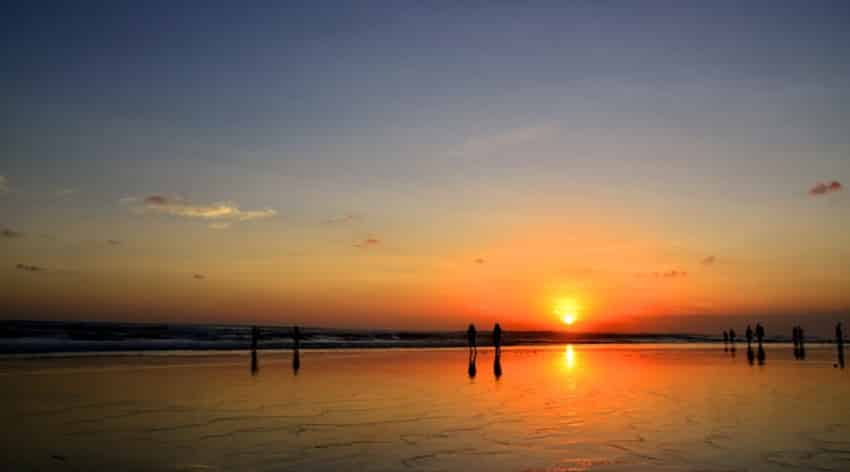 Suasana sunset Bali Life is Good