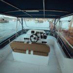 Top deck yacht