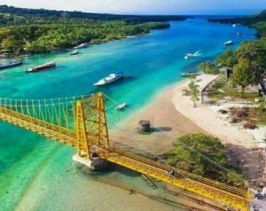 Yellow Bridge Lembongan ceningan