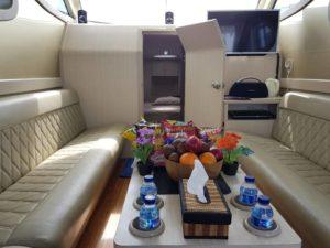 cuddy cabin yacht
