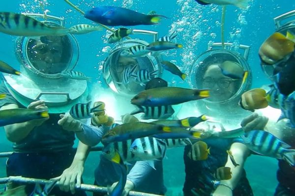 seawalker Tour Nusa Lembongan