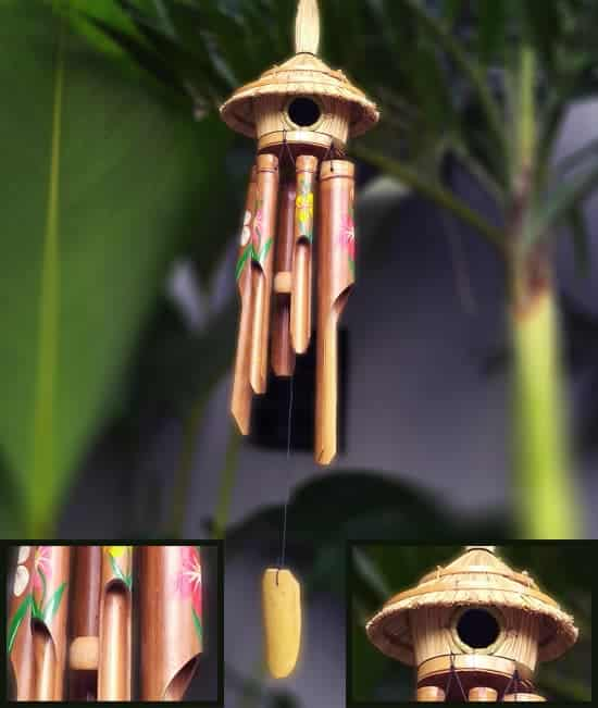 wind chime bamboo